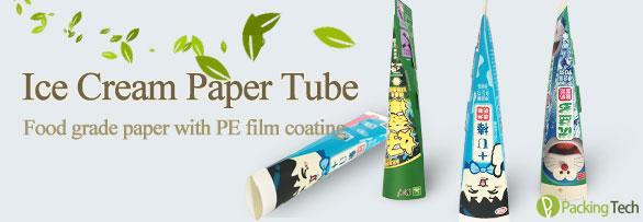 ice cream paper tube, calippo