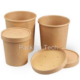 kraft paper tub