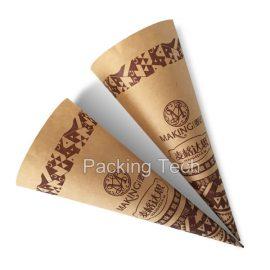 kraft paper cone sleeve