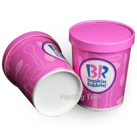 16oz Ice Paper Tub For Ice Cream Frozen Yogurt