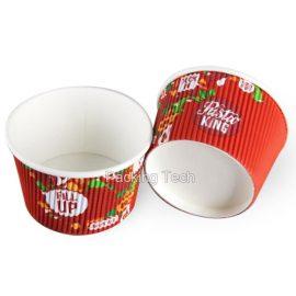 paper ripple pots