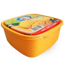 1000ml pp tub with lid