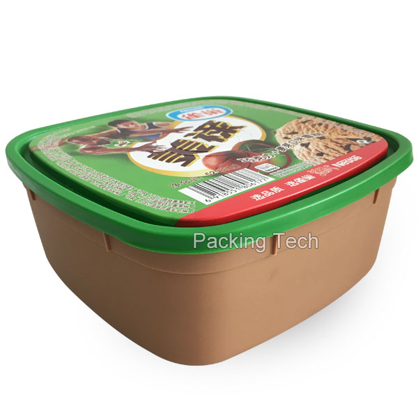 1L PP tub with lid