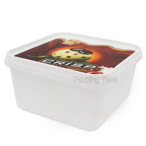 1L 2L IML ice cream tub