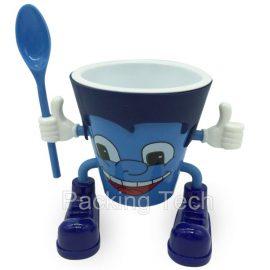 ice cream cartoon cups