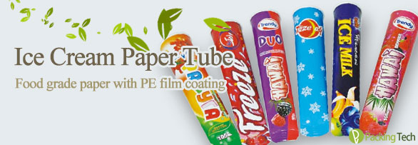 ice cream paper tube
