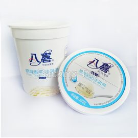 plastic ice cream cup, yogurt cup, food cups, packages