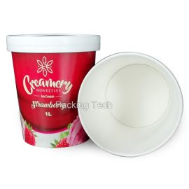 1L ice cream package, paper cups, food packages
